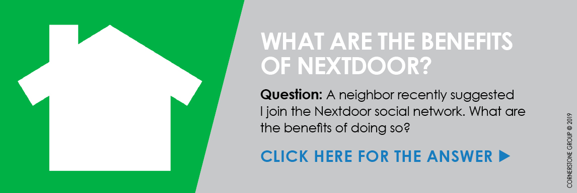 WHAT ARE THE BENEFITS OF NEXTDOOR? - See The Details Download Graphics to View