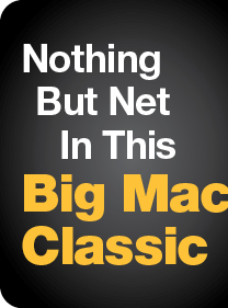Nothing But Net In This Big Mac