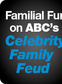 Familial Fun on ABC's Celebrity Family Feud