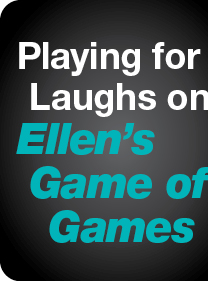 Playing for Laughs on Ellen's Game of Games