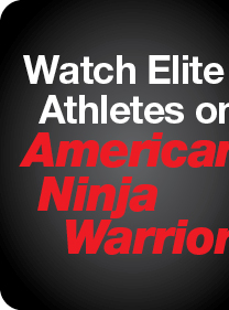 Watch Elite Athletes on American Ninja Warrior