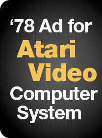 '78 Ad for Atari Video Computer System