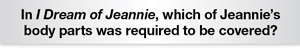 The Question Is Which of Jeanie's body parts was required to be covered?
