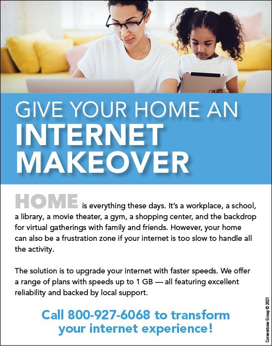 internet home makeover
