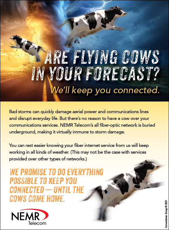 Are Cows Flying in Your Forecast? - Download Graphics to View