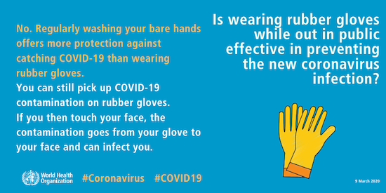 Wearing Gloves - Download Graphics to View